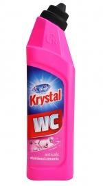 Krystal WC na nerez a keramiku 750 ml - růžový