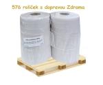 Toaletní papír Jumbo 190, dvouvrstvý 65% bělost, paleta