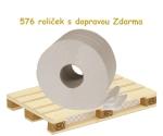 Toaletní papír Jumbo 190 recykl, paleta