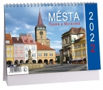 K525 - Kalendář Města Čech a Moravy 2022