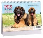 K508 - Kalendář Pes - věrný přítel 2022