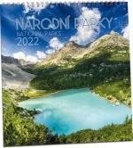 KN213 - Kalendář Národní parky 2022