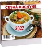K552 - Kalendář Česká kuchyně mini 2022