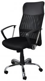 Židle kancelářská Corfu, černá