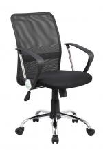 Židle kancelářská Lipsi, černá