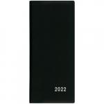 Diář 2022 měsíční plánovací VM1-1 PVC černá
