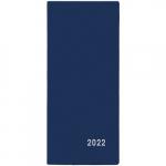Diář 2022 měsíční plánovací VM1-1 PVC modrá
