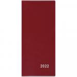Diář 2022 měsíční plánovací VM1-1 PVC bordó