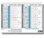 Kalendář 2022 plánovací karta Lístkový - VPK01