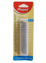 Náhradní břity MAPED 18 mm/10ks