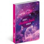 Diář školní 2021/2022 -PGD-30250 - Galaxy