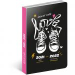 Diář školní 2021/2022 -PGD-30249 - tenisky