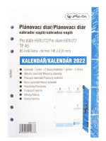 Herlitz náplň diář A5 CZ/SK 2022