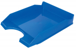 Odkladač na dok. plastový Office modrý
