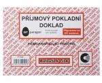 Příjmový pokladní doklad PT 020