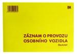 Záznam o provozu OV číslovaný PaM 97
