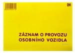 Záznam o provozu OV nečíslovaný PaM 971