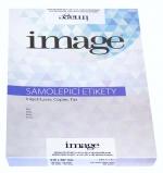 Etikety samolepicí A4 210 x 297/100  listů bílé Image label