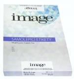 Etikety samolepicí A4 52,5 x 21,2/100 listů bílé Image label
