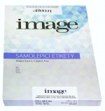 Etikety samolepicí A4 105 x 148,5/100 listů bílé Image label