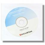 Obálka na CD papírová 125 x 125 mm 90 g, průhledné okénko