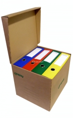 Úložný box EMBA UB2 330 x 300 x 295 mm, zelený potisk