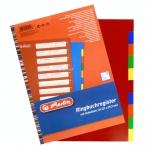 Registr A4 (2 x 5 barev) plastový