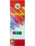 Pastelky Progresso 8755/6 ks