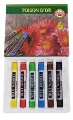 Křídy umělecké 8511/6 barev KOH-I-NOOR