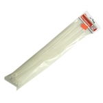 Páska stahovací bílá 250 mm 3,6 mm - balení 50ks