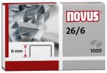 Drátky Novus 26/6 sešívací sponky balení 1000 ks