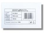 Laminovací fólie Standard 54x86 mm/125mic. 100 ks lesklá