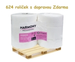 Toaletní papír JUMBO 190 bílá celulóza, paleta