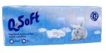 Kapesníčky papírové 10 x 10 ks/bal 3-vrstvé bílé