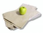 Sáček kupecký papírový do 1 kg, ploché dno, balení 15kg