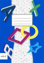 Sešit 440e čistý 40 listů