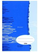 Sešit 520e čistý 20 listů