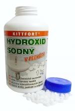 Hydroxid sodný LOUH 1 kg/