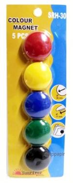 Magnety sada průměr 30 mm balení 5 ks