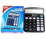 Kalkulačka DELI 837, 12- místná, solární