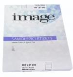 Etikety samolepicí A4 192 x 61/100 listů bílé Image label
