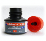Náhradní inkoust Edding BTK 25, červený
