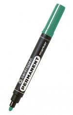 Popisovač CENTROPEN 8566, permanent, kulatý hrot, zelený