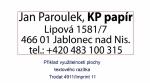 Polymer na zakázku Imprint 1 (Colop 20, Trodat 4911, Imprint 11)
