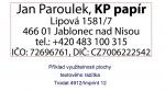 Polymer na zakázku pro razítka Trodat 4912, Imprint 12, Colop 30