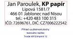 Polymer na zakázku Imprint 2 (Colop 30, Trodat 4912)