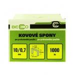 Drátky do sponkovačky Becco ES 10 mm/11,3 balení 1000 ks