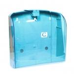 Zásobník na papírové ručníky skládané Z-Z , Vialli modrý