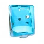 Zásobník na papírové ručníky v roli , Vialli modrý