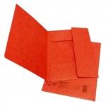 Desky papírové A4 mapa 253 prešpán, červená
